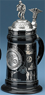 <div>0.5L U.S Navy Corpsman Stein with Custom Lid and Badge</div><div><br></div>