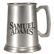Engraveable pewter tankard.<br>
