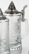 Starbottom 0.5l, Blank, Conical Pewter Lid