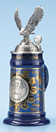 <div>0.75L U.S. Air Force History Stein with Custom Lid and Badge</div><div><br></div>