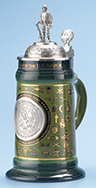 <div>0.75L U.S. Army History Stein with Custom Lid and Badge</div><div><br></div>