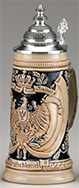 <div>0.5L Raised Relief Imperial Flag Stein</div><div><br></div>