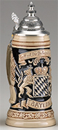 <div>0.5L Bayern Raised Relief Stein</div><div><br></div>