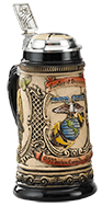 <div>0.5L Military Stein with Custom Body, Inlay Lid, and Thumblift</div><div><br></div>