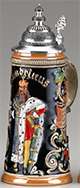 <div>0.75L Gambrinus Raised Relief Stein, Multicolor</div><div><br></div>