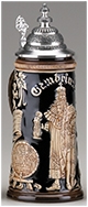 <div>0.75L Gambrinus Raised Relief Stein</div><div><br></div>