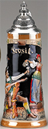 <div>0.5L Prosit Raised Relief Stein, Multicolor</div><div><br></div>