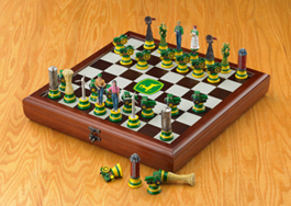 John Deere Chess Set