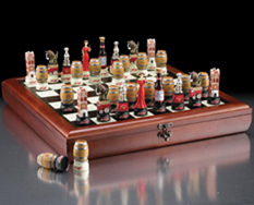 Anheuser-Busch Chess Set