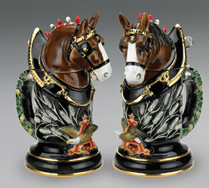 Anheuser-Busch Porcelain Clydesdale Stein