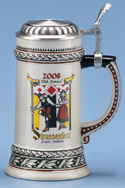 Decal Decorated Steins